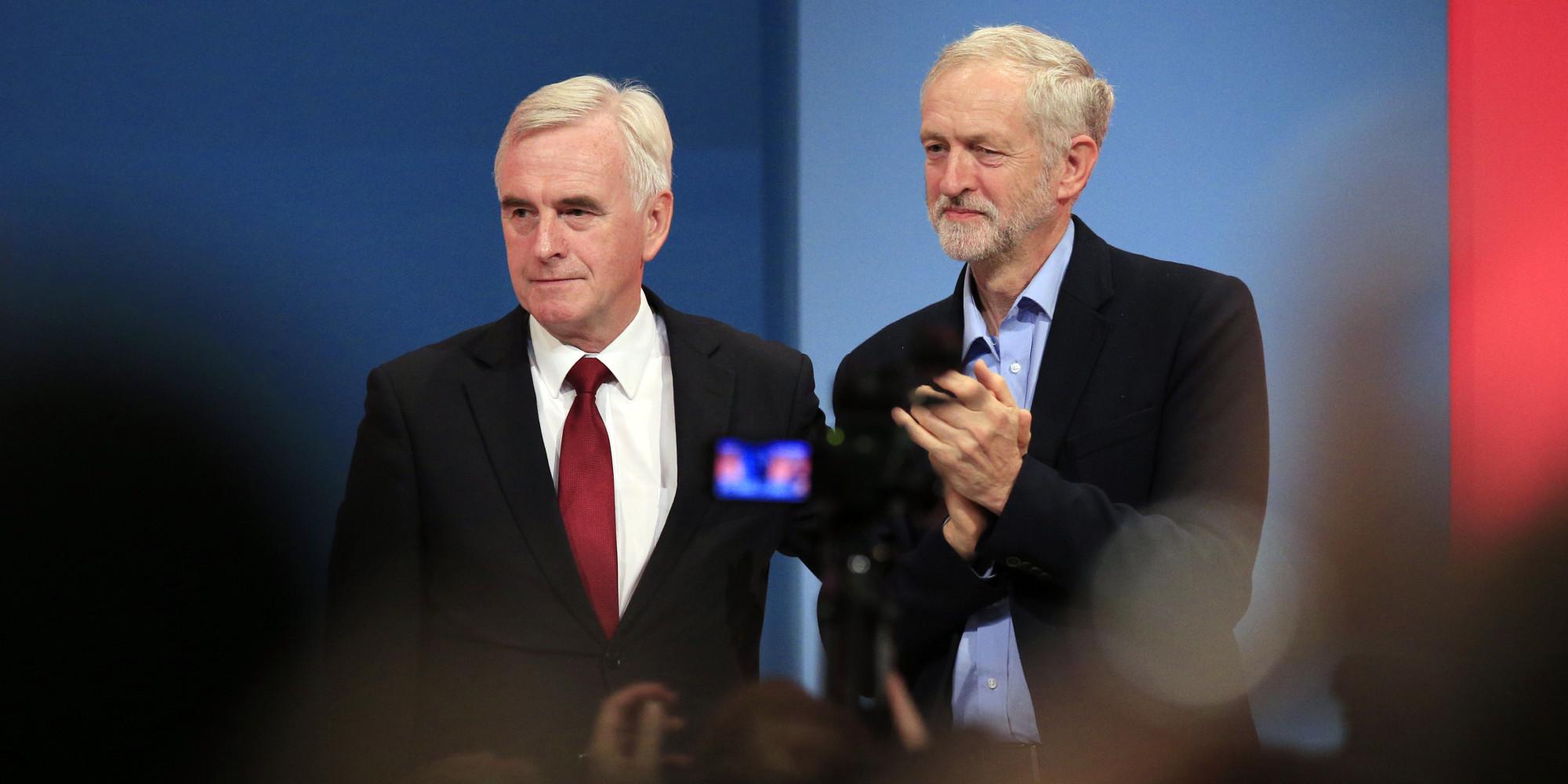 Image result for john mcdonnell jeremy corbyn