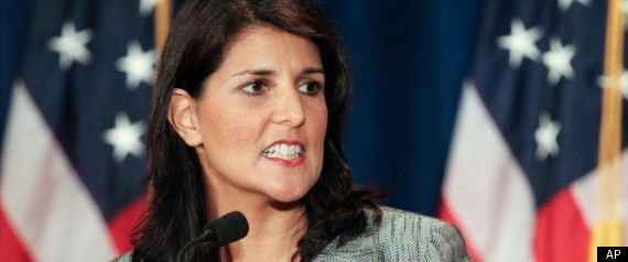 Nikki Haley Little Girl