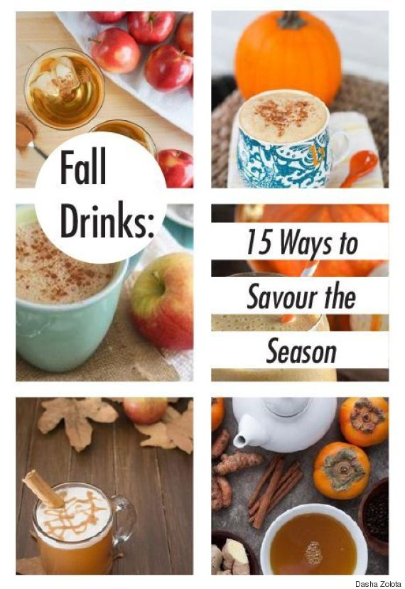 fall drinks