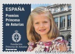 La princesa Leonor tiene sello propio