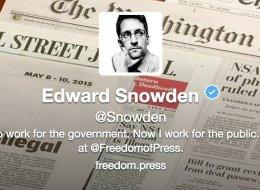 Edward Snowden Finally Joins Twitter, Sends The Perfect First Tweet