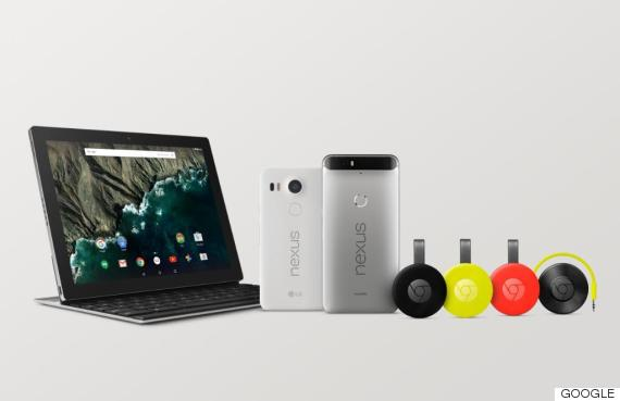 google tablet phone chromecast