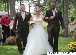 Cette mariée a eu la plus belle surprise le jour de son mariage (PHOTOS)