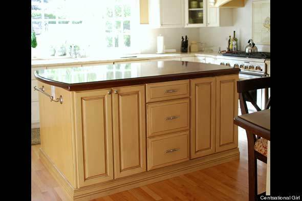 How To Paint Kitchen Cabinets Huffpost Life