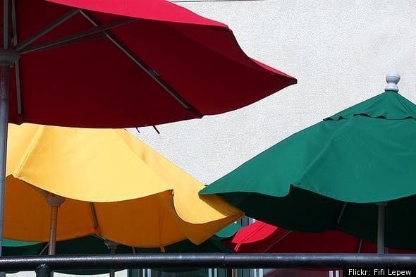 The Best Way To Clean Patio Umbrellas Huffpost Life