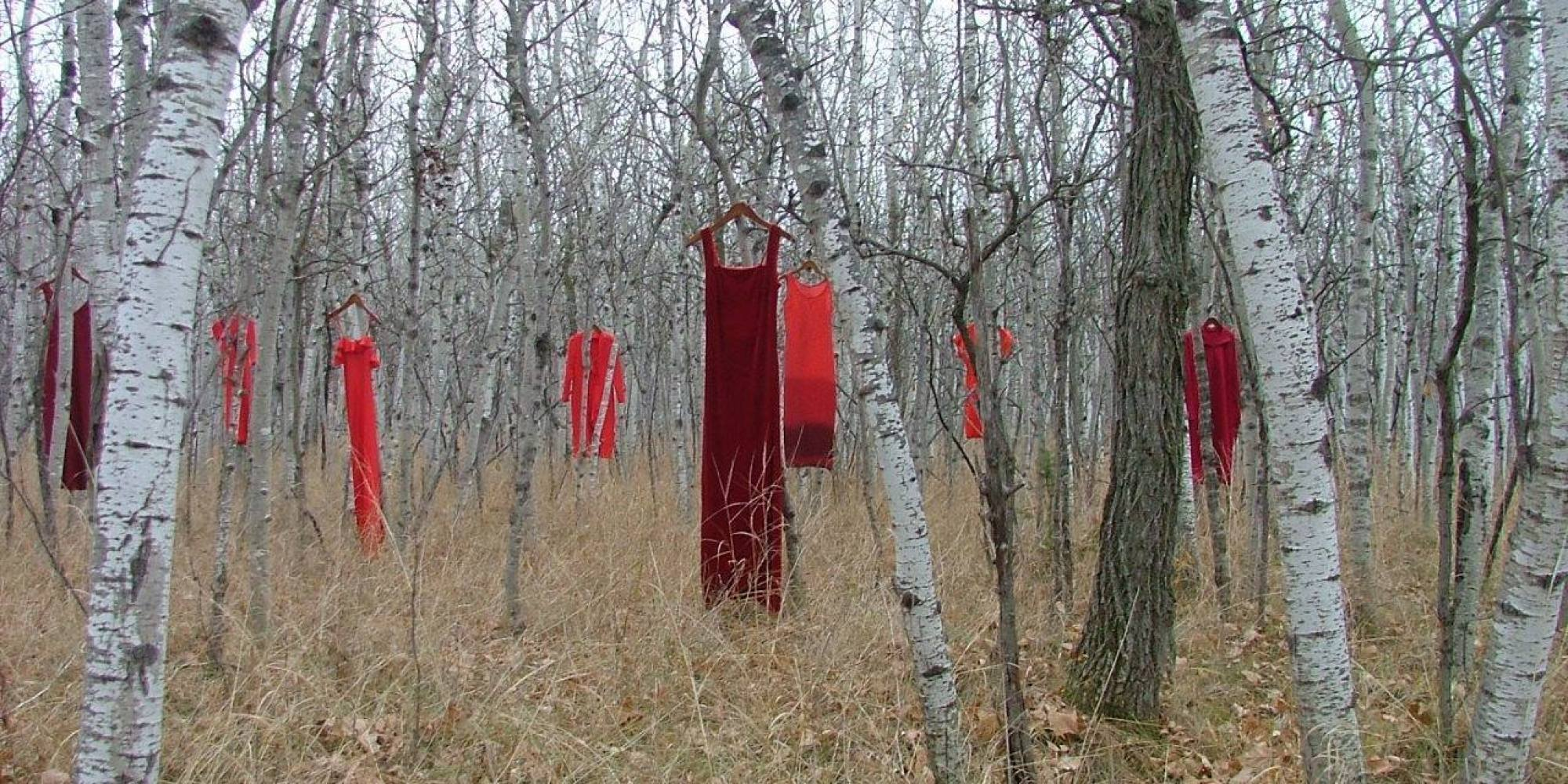 Red Dresses Draw Attention To Canada&39s Missing And Murdered ...