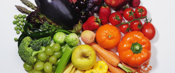 FRUITS VEGETABLES ENERGY FOODS