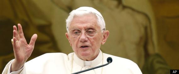POPE BENEDICT BRITISH RIOTS