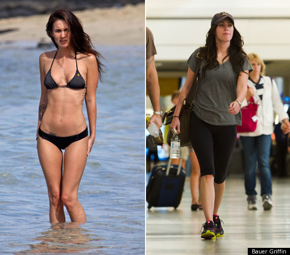 megan fox admits she was too thin photos huffpost