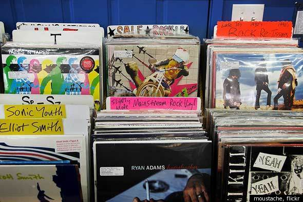 Vinyl Records: Create Your Own DIY Storage