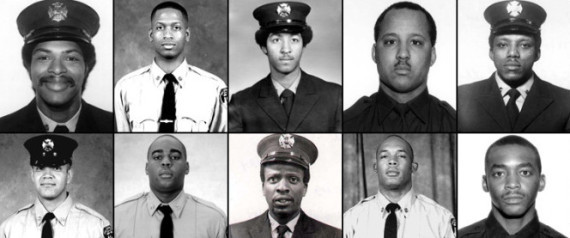 911 Black Firefighters