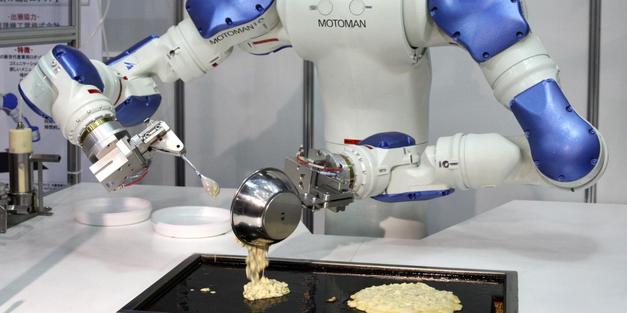 La guerra por el empleo personas contra robots pau a montserrat - Cocinar con robot ...