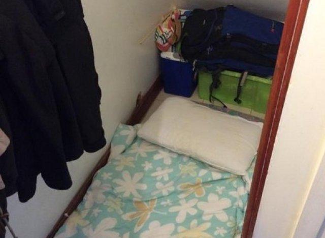 Une chambre louer sous l 39 escalier pour 500 livres par for Sous louer une chambre