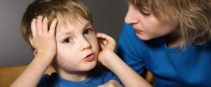 Kid Talking Parent