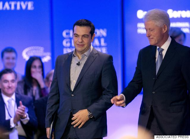 tsipras clinton