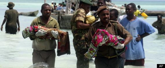 TANZANIA SHIP SINKS