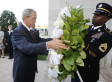 September 11 Anniversary: Former President George W. Bush Lays Wreath At Pentagon Remembrance