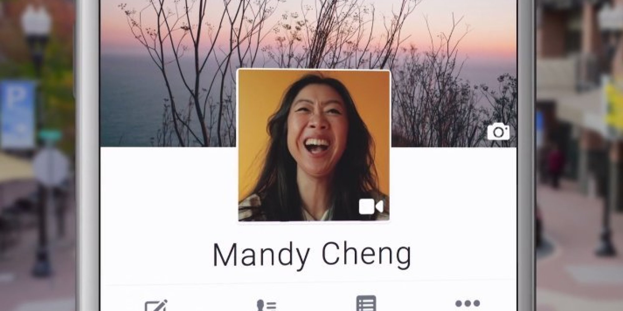 facebook 39 s new profile pages will allow profile videos cue endless possibilities huffpost uk. Black Bedroom Furniture Sets. Home Design Ideas