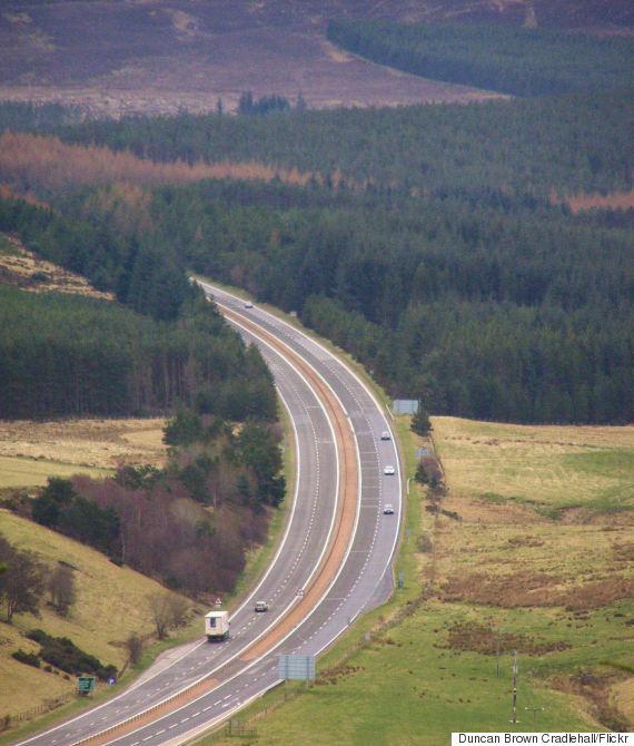 a9 road scotland