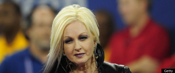 Cyndi Lauper Flubs National Anthem At U.S. Open (VIDEO