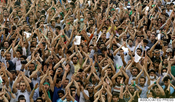 iran protests 2009