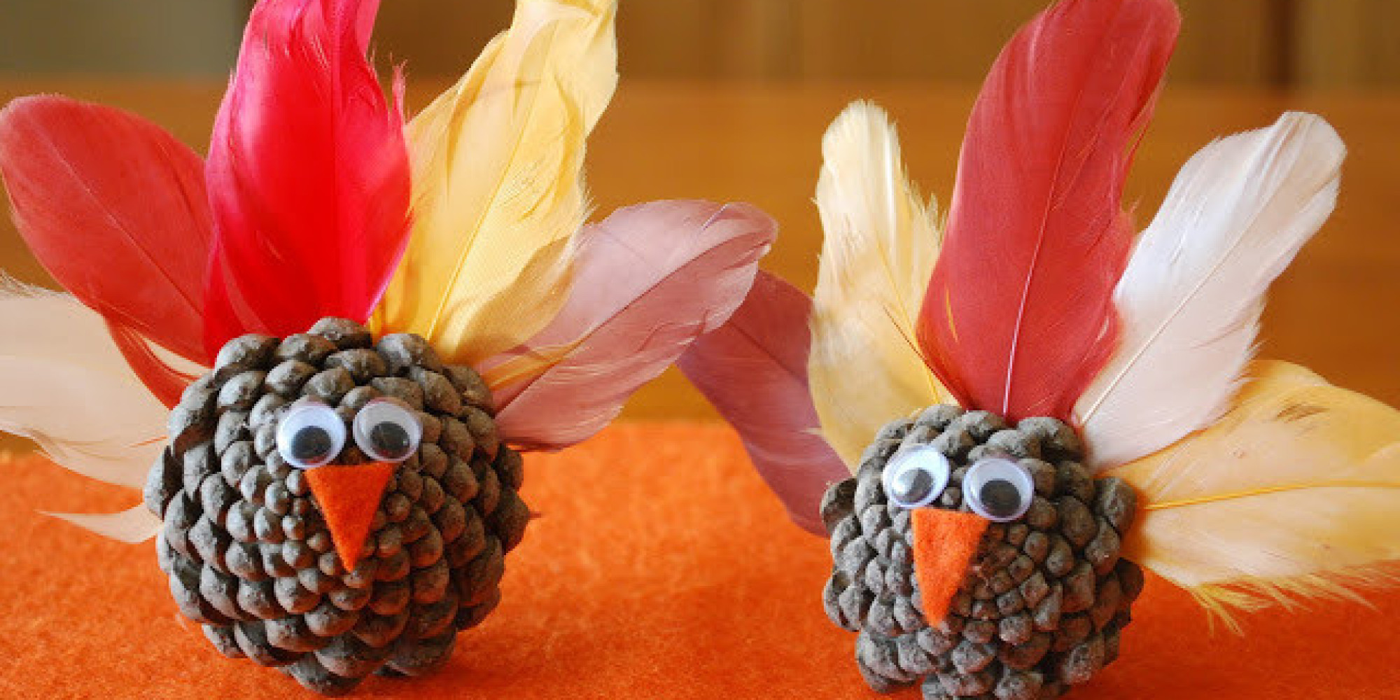 Kids crafts fun thanksgiving to make with your
