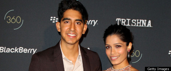Dev Patel And Freida Pinto At The Trishna Premiere