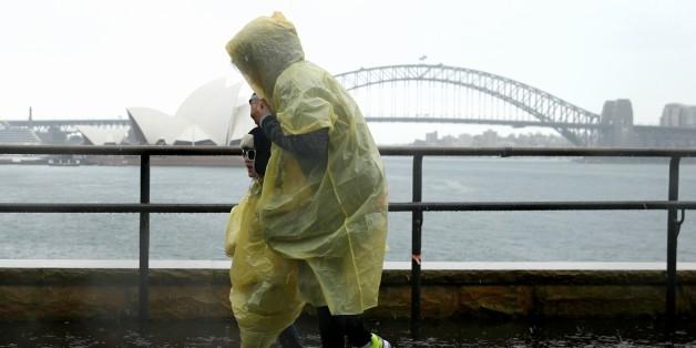 people rain sydney