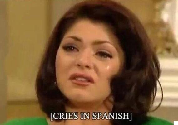 cries in spanish