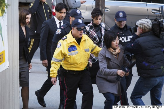 jian ghomeshi in court