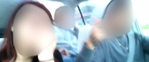 CAR THEFT SUSPECT SELFIE
