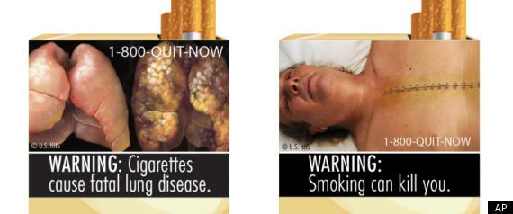 FDA CIGARETTE WARNINGS