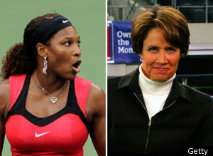 Serena Williams Mary Carillo