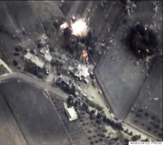 syria airstrikes russia