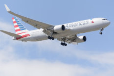 An American Airlines plane | Pic: PA