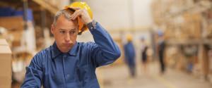 Factory Worker Upset