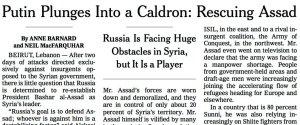 NYT SYRIA