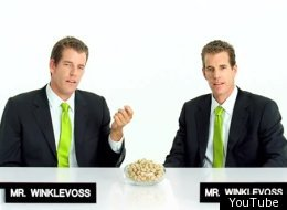 Winklevoss Twins Pistachio Commercial Video
