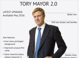 NEW From The Conservatives: Tory Mayor 2.0