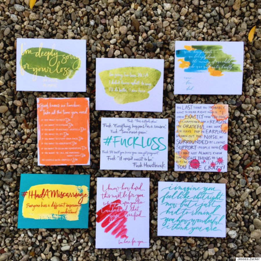 miscarriage cards