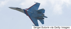RUSSIA FIGHTING JETS