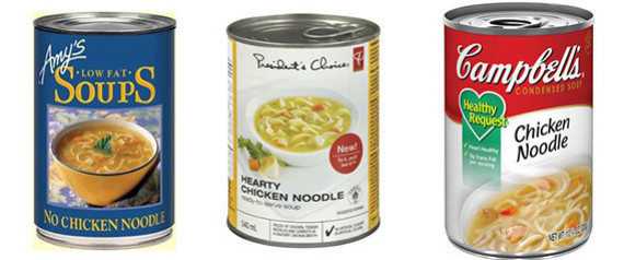 SALT IN CHICKEN NOODLE SOUP