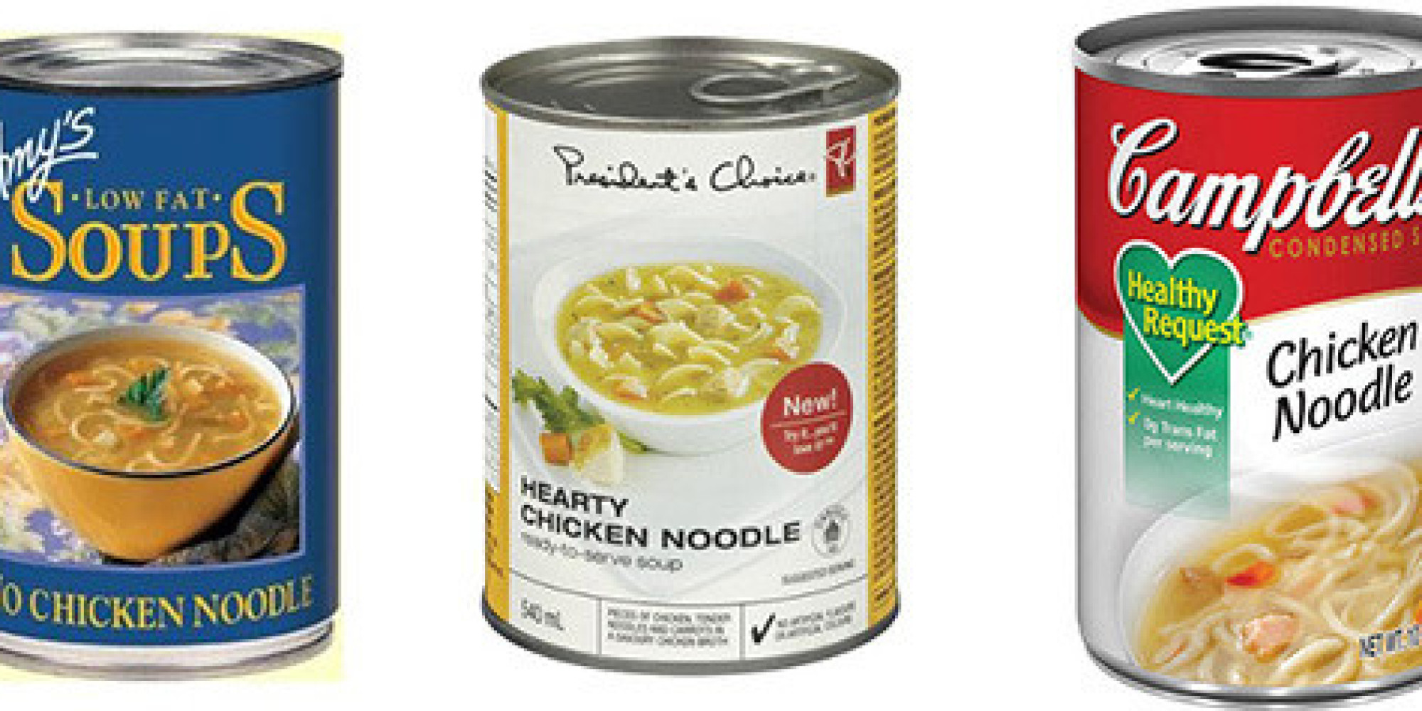Brands of chicken noodle soup