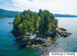 Here's An Entire Island For Sale In B.C.