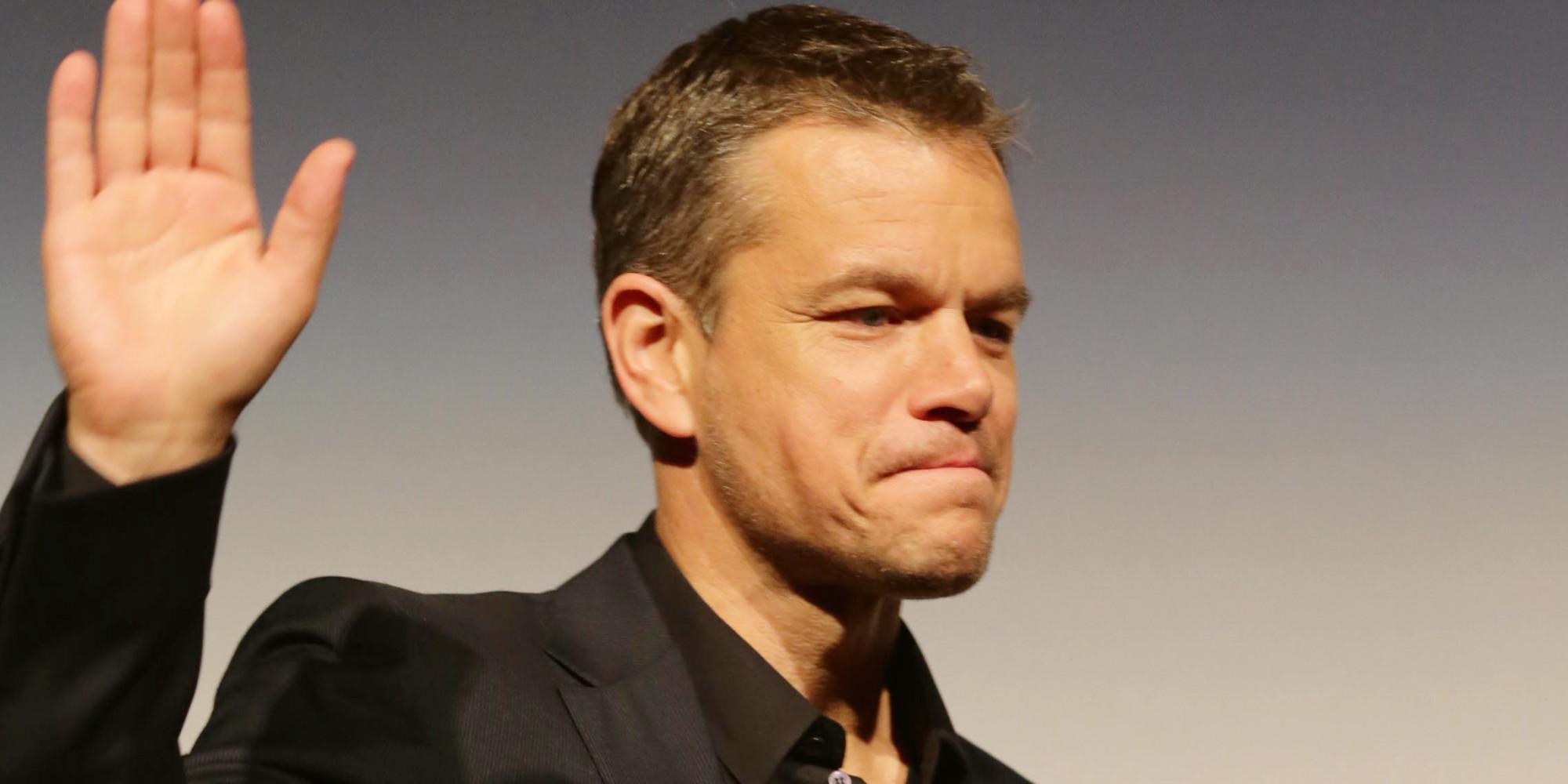 Matt Damon Must Die: Why 'The Martian' Is a Terrible ... Matt Damon