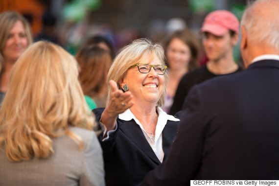 elizabeth may green party