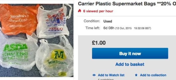 Entrepreneurs Sell Plastic Bags Online For 'Mates Rates'