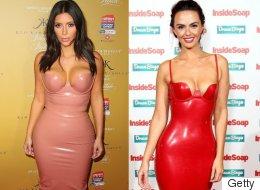 Jennifer Metcalfe Steals Kim Kardashian's Style At Inside Soap Awards