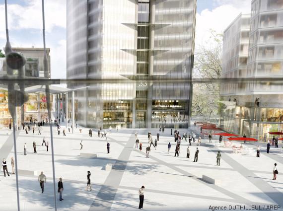 La r novation de la tour montparnasse d butera l for Plan interieur gare montparnasse