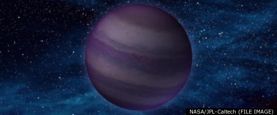 STORM ON BROWN DWARF STAR